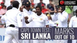 South Africa vs Sri Lanka, 2nd Test: Marks out of 10 for vanquished tourists