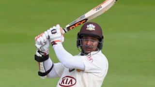 Sangakkara becomes 1st player to score 5 consecutive centuries for Surrey