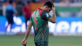 Bangladesh vs West Indies: We lost match because of our fielding, says Mashrafe Mortaza