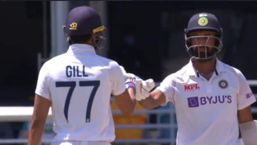 चेन्नई टेस्ट: गिल-पुजारा टिके, जीत से 381 रन दूर है टीम इंडिया