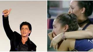Shahrukh Khan thanks KKR cheerleaders