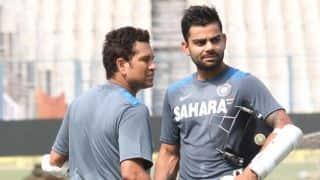 Virat Kohli likely to step into Tendulkar's No. 4 spot