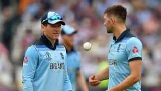 Cricket World Cup 2019: Our fate is in our own hands, says Morgan as Finch backs 'watchful' Warner