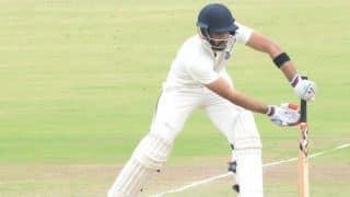 दलीप ट्रॉफी : ध्रुव शौरी 7 रन से शतक चूके, इंडिया ब्लू 340 पर ऑलआउट