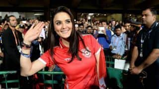 IPL 2018: KXIP co-owner Preity Zinta happy over MI's non-qualification?