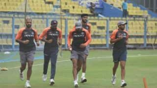 Watch: Team India attends practice session in Guwahati ahead of 1st ODI against West Indies
