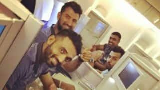 Virat Kohli and Team India departs for West Indies