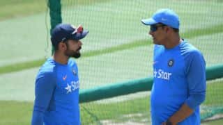 Anil Kumble proposed head coach should be given 60 per cent of captain's match fees