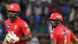 I hope KL Rahul produces the goods like Virat Kohli: Chris Gayle