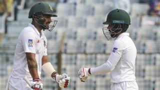 Bangladesh trail Sri Lanka by 13 runs at lunch, Day 5, 1st Test