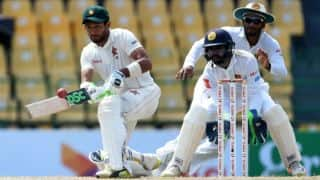 Raza, Moor take ZIM to 136-run lead against SL at tea, Day 3 in Colombo Test