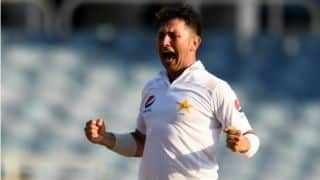 Pakistan's Yasir Shah becomes first bowler since Anil Kumble to take 10 wickets in a day