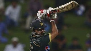 Shahzad falls for 33, Afridi joins the party