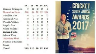 Shania-Lee Swart is CSA Under-19 Player of the Tournament