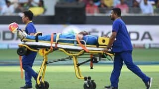 Asia Cup 2018: Hardik Pandya stretchered off during India vs Pakistan match