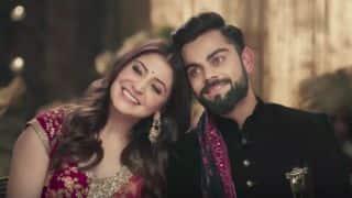 Watch Virat Kohli, Anushka Sharma bowling over fans with their near-perfect chemistry
