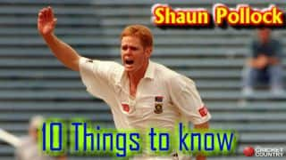 10 things to know about Shaun Pollock
