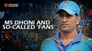 MS Dhoni's plight shows depreciating standard of Indian cricket fans