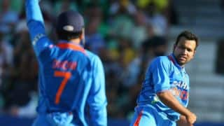 Rohit to lead India Blue in Deodhar Trophy; Dhoni omitted