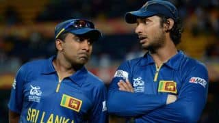 Mahela Jayawardene, Kumar Sangakkara tweet delight on winning ICC World T20 2014