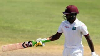 Blackwood leads West Indies' fightback to guide his side to 88-4 at lunch