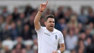 James Anderson reprimanded by ICC following dissent over umpire's decision