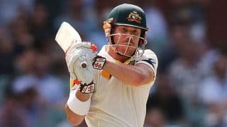 David Warner dedicates ton against India to Phillip Hughes