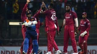 1st T20I Report: Thomas Five-For Powers West Indies to 25-Run Win vs Sri Lanka