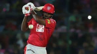 Gayle half-century, Sarfaraz muscle Punjab to 184/4 against Rajasthan