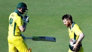 ICC World Cup 2019 warm-up: David Warner, Steve Smith booed and heckled during Australia-England game