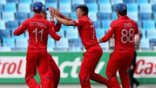 England vs Pakistan Under-19 World Cup semi-final: Pakistan 103/4 in 27 overs