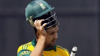 Rilee Rossouw dismissed for 36 as South Africa lose third wicket