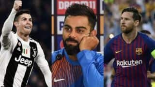 His drive separates him from everyone else: Virat Kohli picks Cristiano Ronaldo over 'freak' Lionel Messi