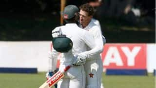 Bangladesh vs Zimbabwe 1st Test: Sean Williams, Hamilton Masakadza hit half centuries; Zimbabwe reach 236/5 on Day 1