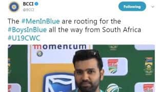 Rohit reveals senior team followed youngsters' journey during Tests