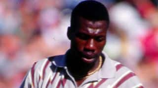 Curtly Ambrose reveals details on on-field spat with Steve Waugh during 1995 series
