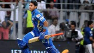 Mumbai Indians vs Lahore Lions CLT20 2014 2nd Qualifier match: Michael Hussey, Aditya Tare resurrect innings