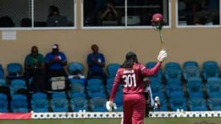 India vs West Indies, 3rd ODI: Gayle onslaught sets India 255 for series win