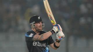 New Zealand vs Sri Lanka 2014-15: Brendon McCullum and Kane Williamson bring 50-run stand for 2nd wicket