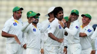 Rahat Ali leads Pakistan's fightback as Sri Lanka go to lunch at 55/3 in 3rd Test, Day 3 at Pallekele