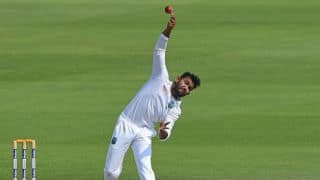 Devendra Bishoo reduces Zimbabwe to 101-3 against West Indies at lunch, Day 2, 1st Test