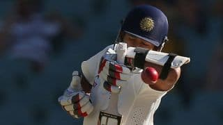 VIDEO: Wriddhiman Saha reaches his maiden Test half-century