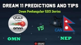 OMN vs NEP Dream11 Team Oman vs Nepal, Match 10, Oman T20I Series – Cricket Prediction Tips For Today's Match OMN vs NEP at Amarat