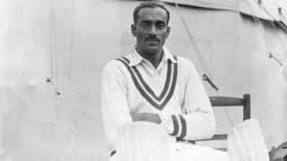 On this day in 1932, India played their first Test cricket match