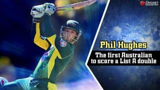 Phil Hughes smashes List A double-ton: List of batsmen who have achieved same feat