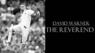 IND vs AUS: David Warner — The Reverend and IPL-winning captain