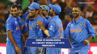 India vs Bangladesh, ICC Cricket World Cup 2015 Quarter-Final 2 at Melbourne: Highlights