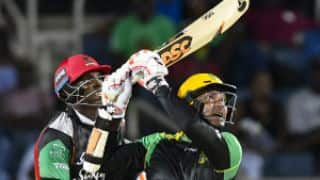 Kumar Sangakkara triumphs over Chris Gayle; Jamaica Tallawahs reach CPL 2017 play-offs
