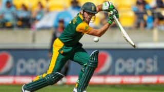 South Africa vs United Arab Emirates (UAE), ICC Cricket World Cup 2015 Pool B Match 36 at Wellington: In Photos