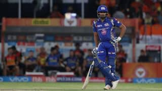 IPL 2017 VIDEO: Was Rohit Sharma out?